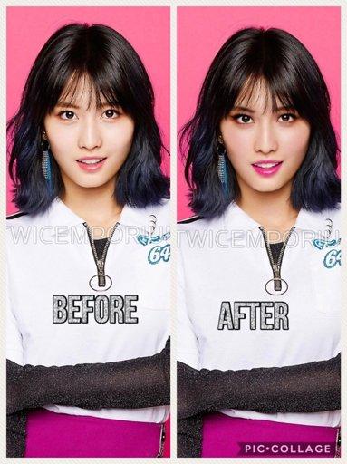 Twice With American Makeup Twice ͊¸ì™€ì´ìŠ¤ Ť Amino