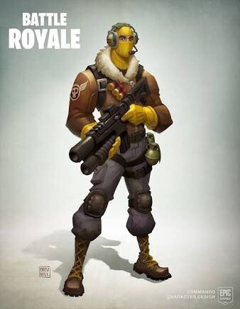 Who Here Thought The Raptor Skin Was Sic Fortnite Battle Royale