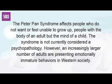 Peter pan syndrome symptoms