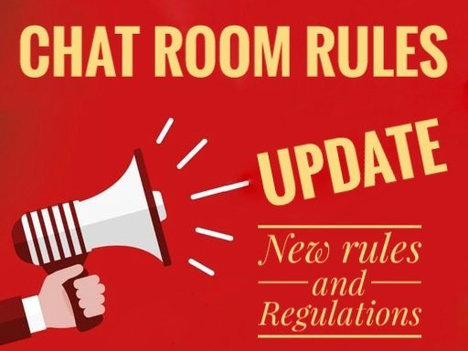 Chat room rules and regulations