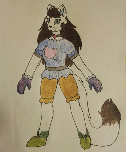 Chocolate the archer cat | Wiki | Furry RP Town Amino