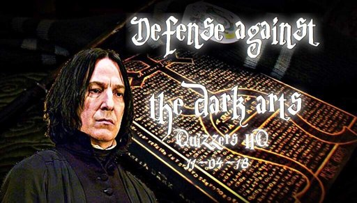 Quizzers Hq Defense Against The Dark Arts Harry Potter Amino