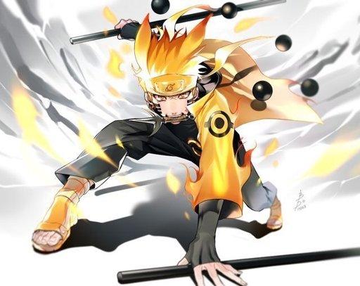 Naruto Modo Sabio De Los 6 Caminos Para Colorear: Naruto Modo Sabio De Los 6 Caminos