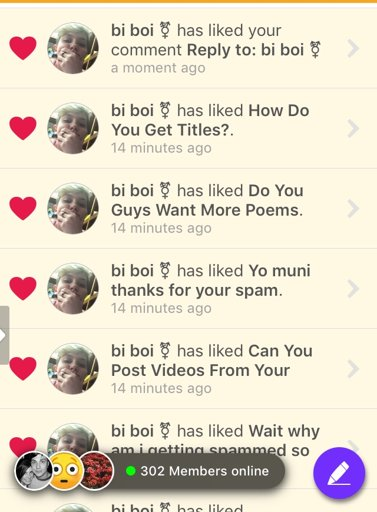 why do people spam meh clique amino
