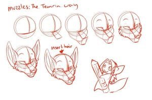 Lesson 7 How To Draw A Muzzle Furry Amino