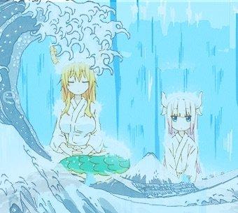 Background Pfp Edits Free To Use Miss Kobayashis Dragon Maid Amino