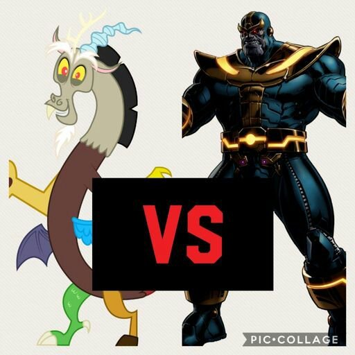 Blood Lust Battle Finale Discord vs Thanos | Wiki | Cartoon
