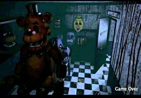 the fnaf game over screen theory five nights at freddy s amino
