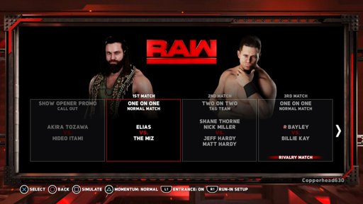 WWE 2K18 Raw Jan, Week 2 | Wrestling Amino