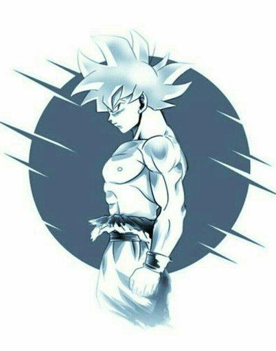Desenhando O Goku Instinto Superior Completo Nekos Br