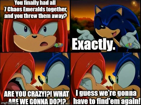 Sonic And Knuckles Funny Sonic The Hedgehog Amino