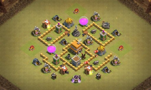 Best War Base Th 5 Coc 11