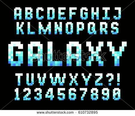Pixel Letters | Hyun's Dojo Amino