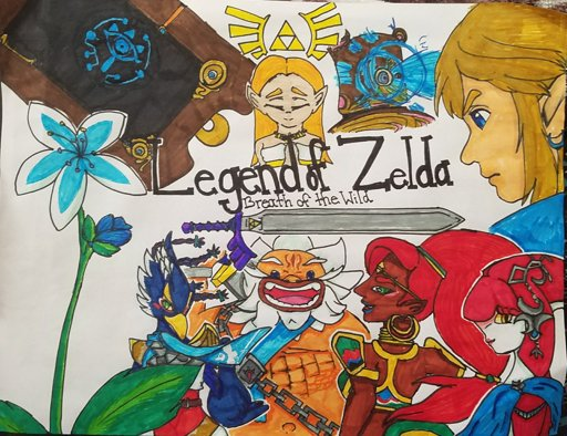 Legend Of Zelda Breath Of The Wild Fanart Zelda Amino