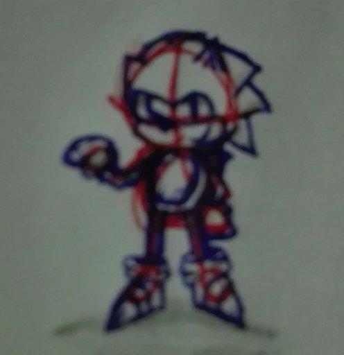 Draw Classic Sonic It So Small Omg Sonic The Hedgehog Amino