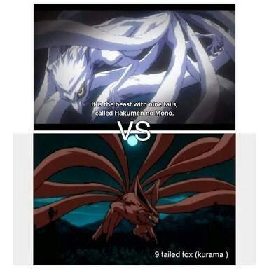 hakumen no mono vs kurama kyuubi anime amino
