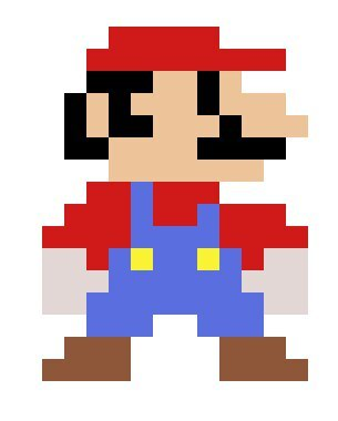 Recreating sprites #1 - Super Mario Bros Mario   Mario Amino
