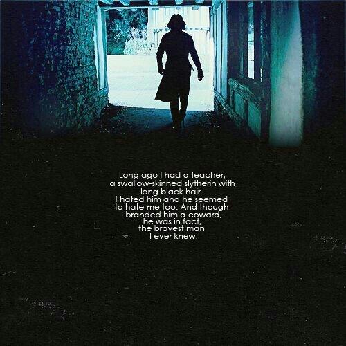 Severus Snape X Teacher
