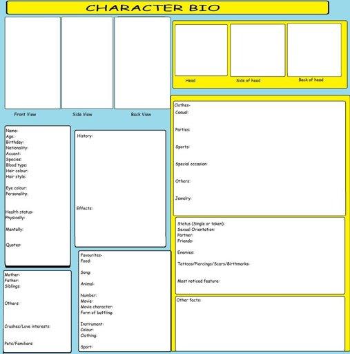 Character Sheet Wiki Roblox Amino