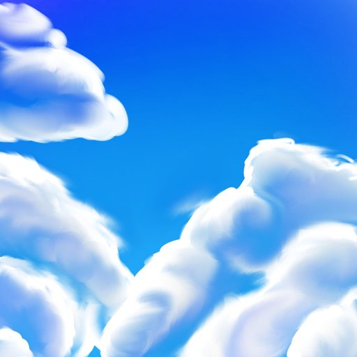 New Art On My Phone New Drawing Style Of Clouds Virtual Space