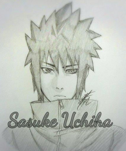Tuto dessin comment dessiner sasuke uchiha naruto - Dessin naruto et sasuke ...