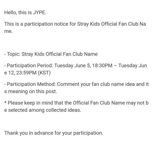 ⊰ Stray Kids Fandom Name Suggestions Notice ⊱ | Stray Kids