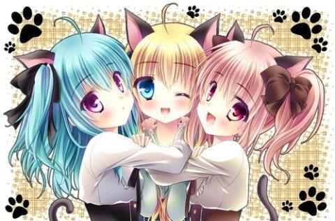 صور انمي بنات صديقات امبراطورية الأنمي Amino