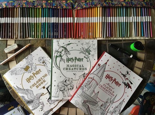 - HP Coloring Books Wiki Harry Potter Amino