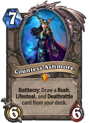 Countess Ashmore | Wiki | Hearthstone Amino