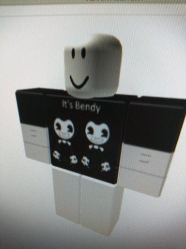 Bendy Shirt Roblox My New Bendy Fan Shirt On Roblox Roblox Amino