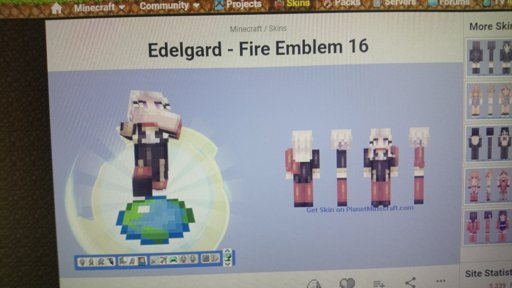 fire emblem minecraft skins