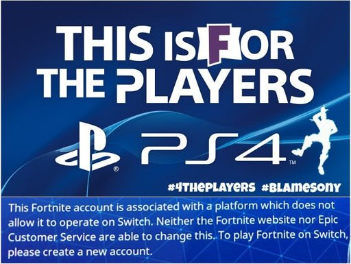 Sony is holding Epic Games accounts hostage | Fortnite