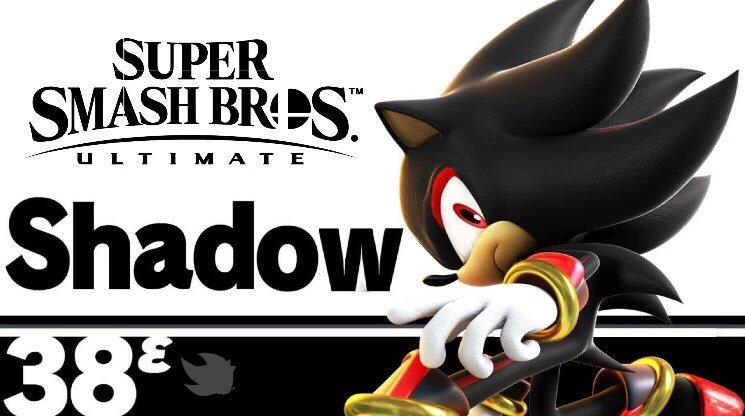 My Thoughts Of Shadow In Smash Bros Ultimate Sonic The