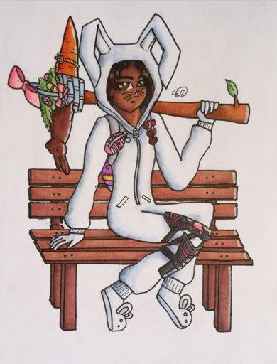 Bunny brawler fortnite fanart fortnite battle royale armory amino - Fortnite bunny brawler ...