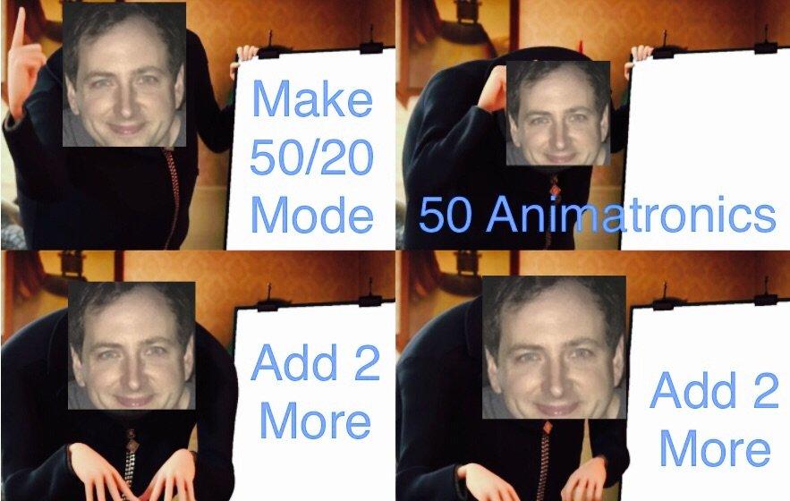 Scott's/Gru's Plan meme. | Five Nights At Freddy's Amino