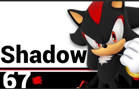 Should Shadow Be Sonic S Echo Fighter In Super Smash Bros