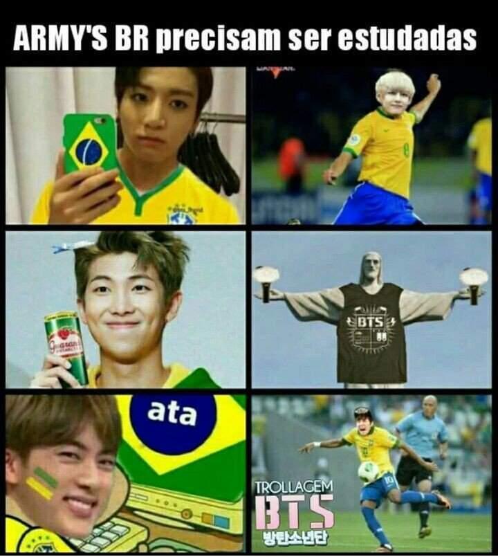 E Pra Copa Do Mundo Das Armys Temos Memes
