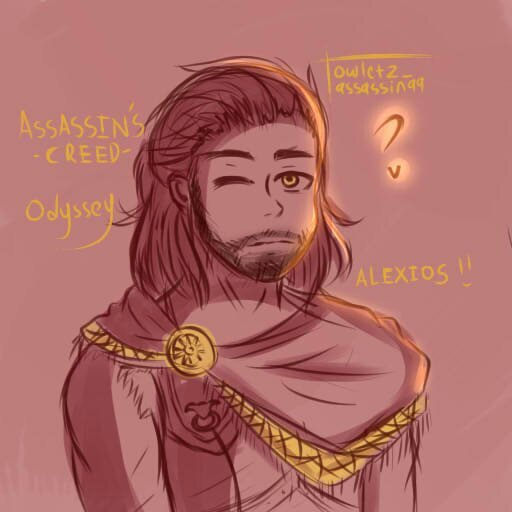 Alexios Fanart From Ac Odyssey Assassins Creed Amino