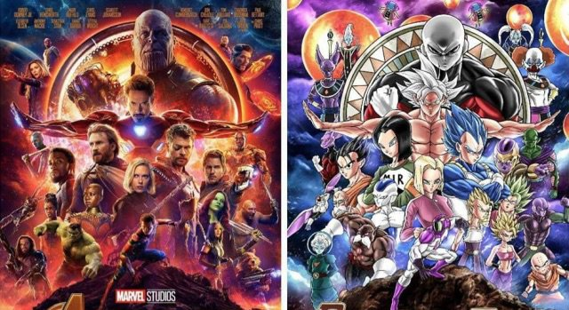 Tournament of power x avengers infinity war crossover what