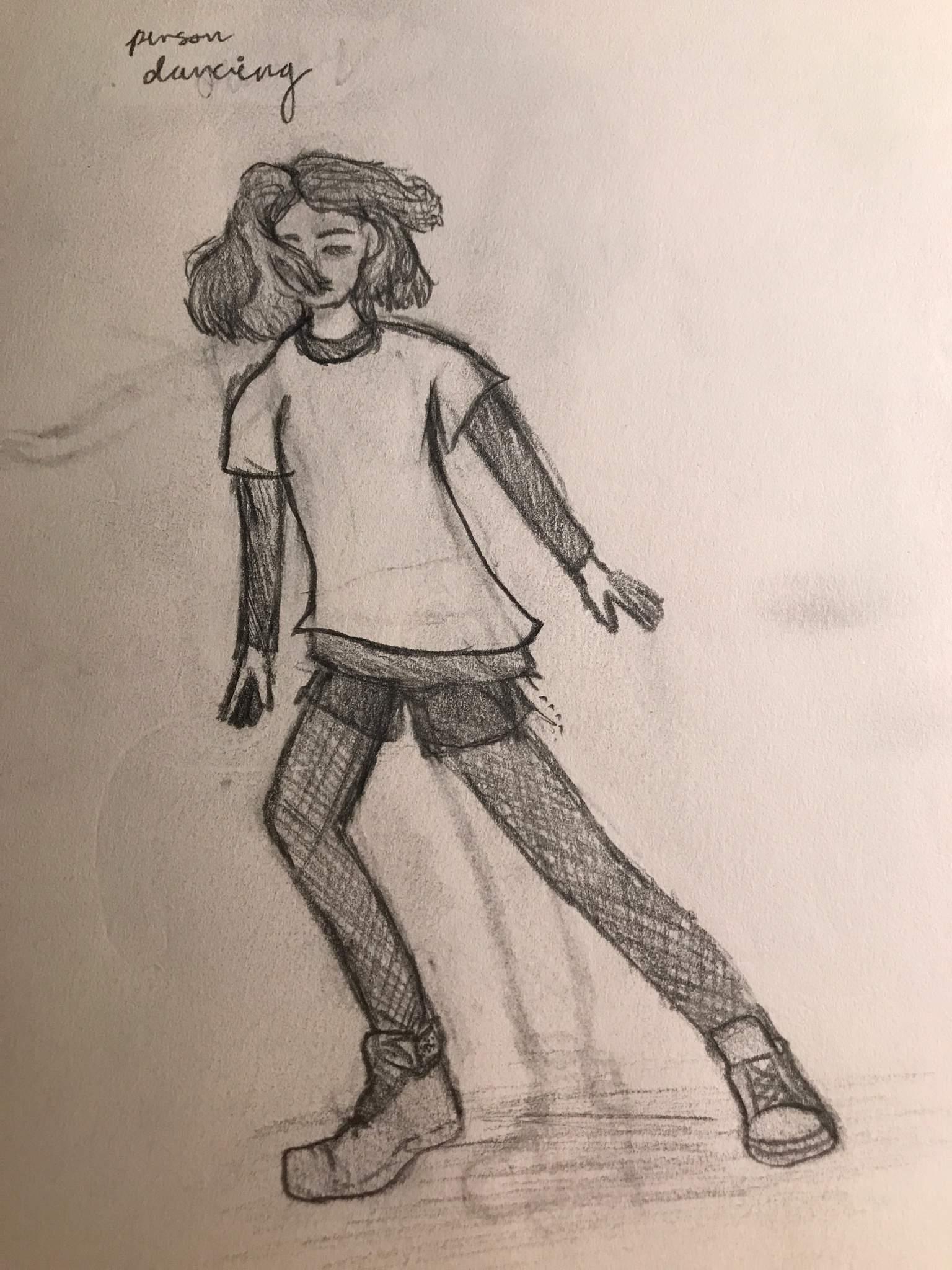 Dancer Drawing Sketch Art Amino