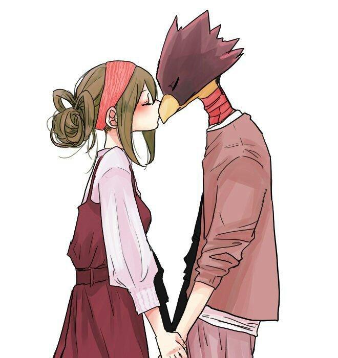 How do you Kiss a birb? | My Hero Academia Amino