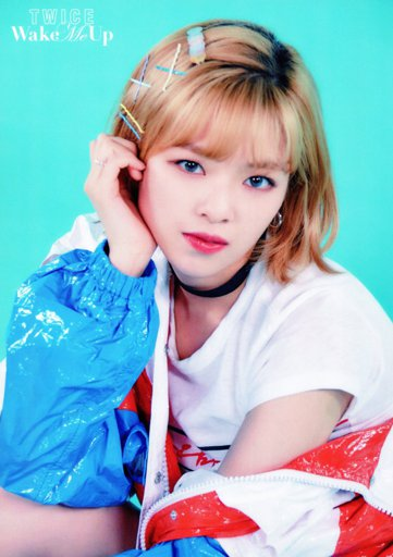 Jeongyeon Wake Me Up Photocards Scans Wiki Twice 트와이스 ㅤ