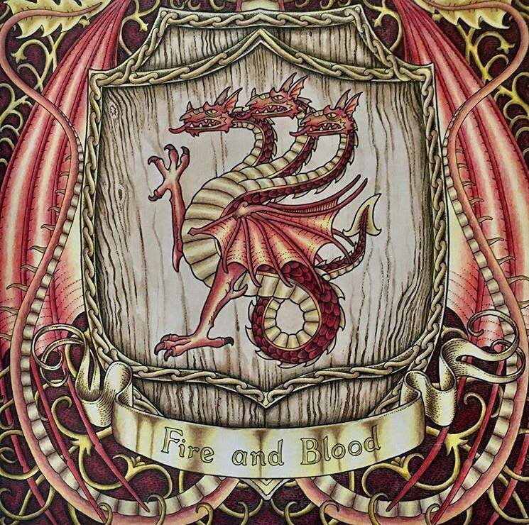 игра престолов любимая раскраска и работы в ней получаются