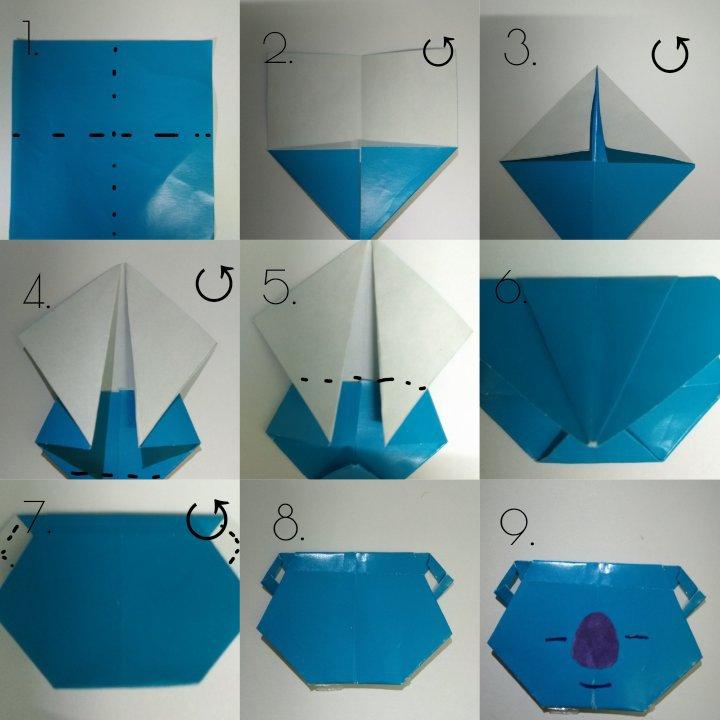 Simple Origami Tutorial Design and Idea – Aplicații pe Google Play | 720x720