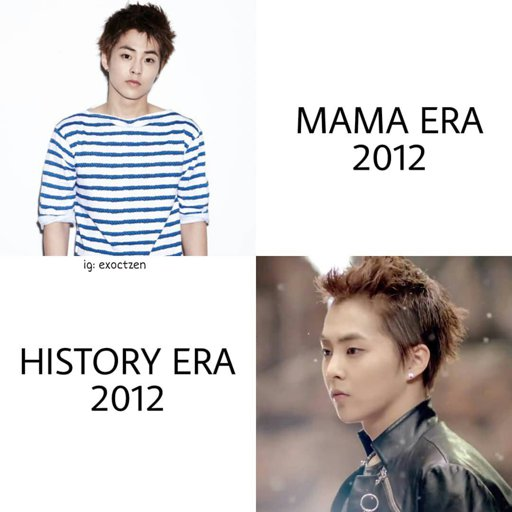 What Era Are Not For Xiumin Exo Ls Amino
