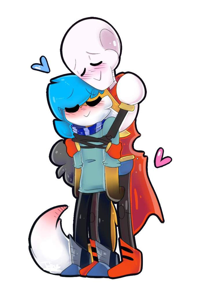 Iesha And Papyrus Being Weird My Simple Style Owo Shading Test Scootaloo Loves Sans Amino So i decided to sketch this love triangle! amino apps