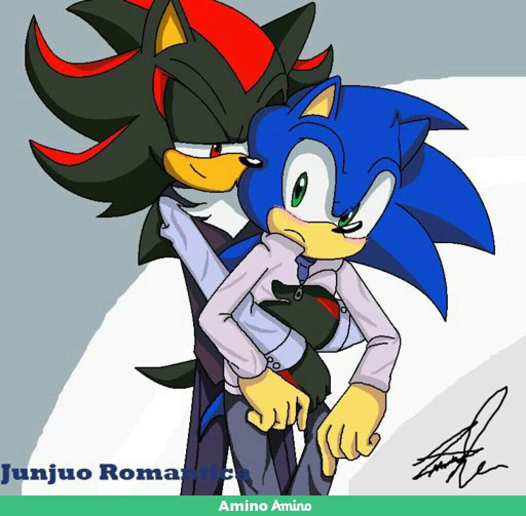Fanfic: Strange neighbor  Part 2  | Sonadow Amino
