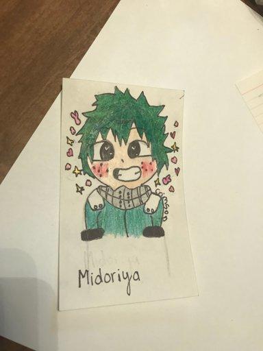 Midoriya Izuku Cute Drawing Wiki My Hero Academia Amino