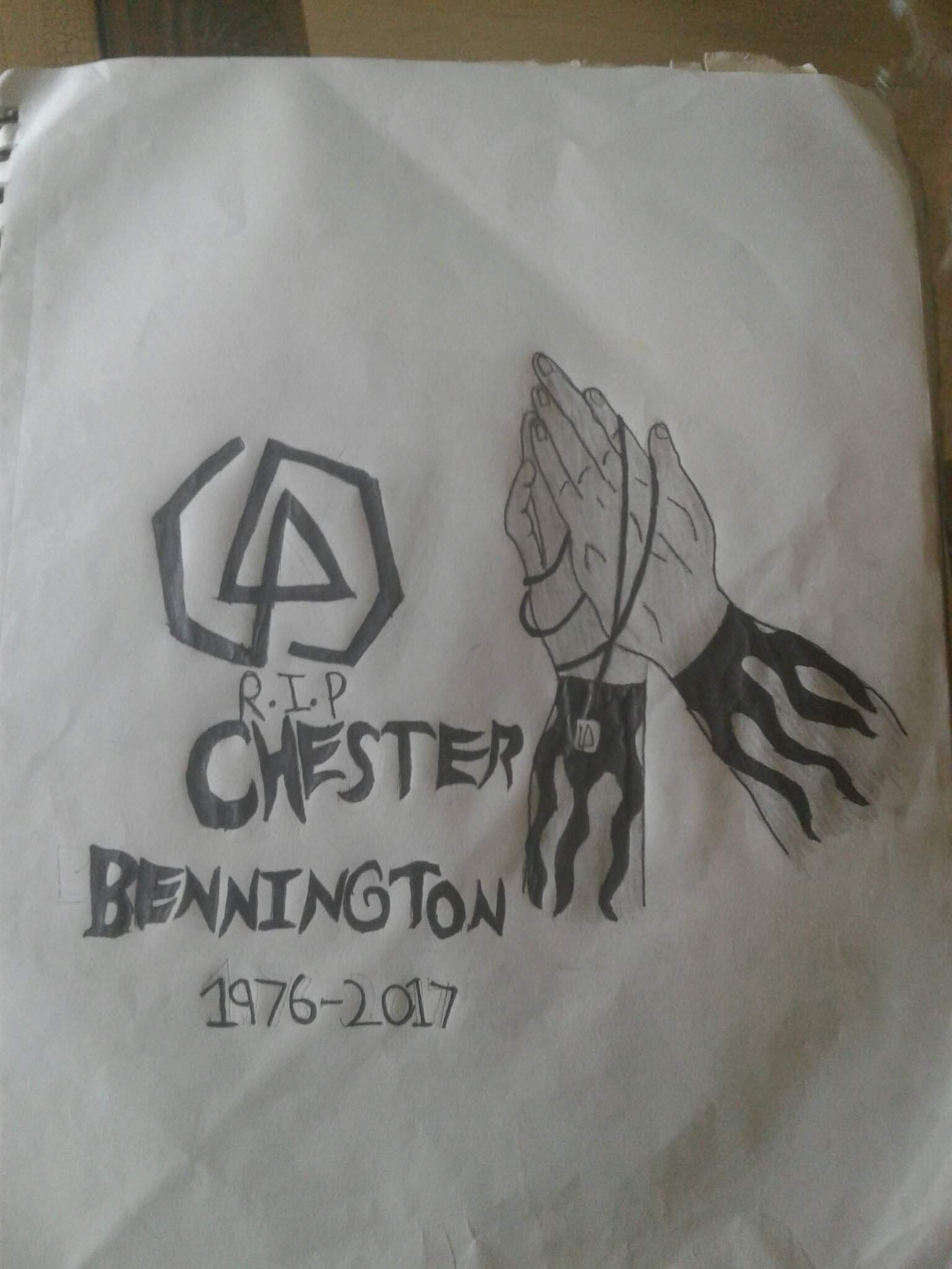 Here Take This Drawing Linkin Park Amino