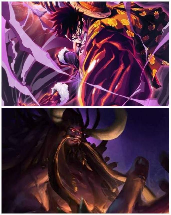 Emperor Vs Emperor Straw Hat Monkey D Luffy Vs Kaido